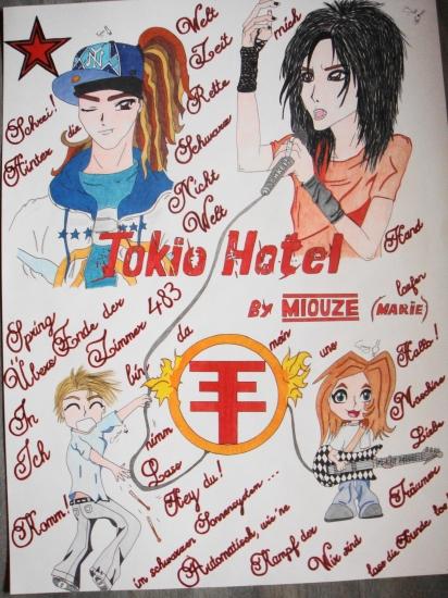 Tokio Hotel by Miouze